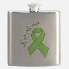 Lymphoma Awareness Flask