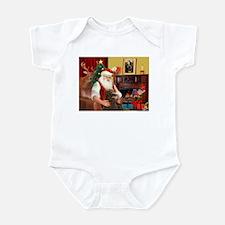 Santa's Std Poodle(c) Infant Bodysuit