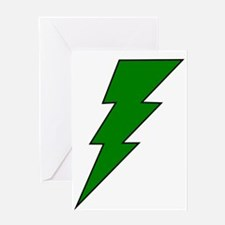 The Green Lightning Shop Greeting Card