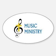 Music Ministry Decal