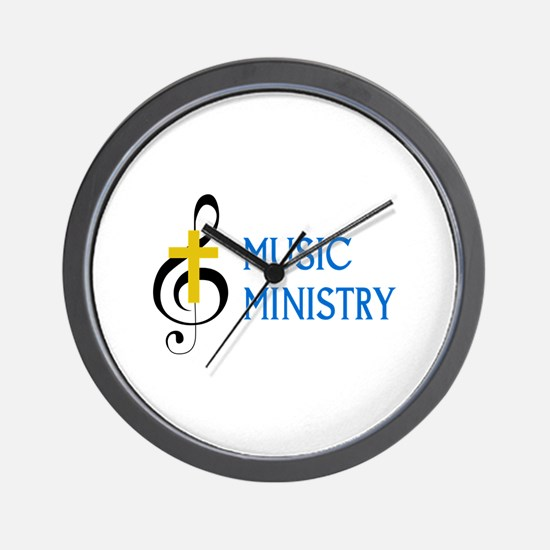 Music Ministry Wall Clock