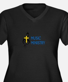 Music Ministry Plus Size T-Shirt