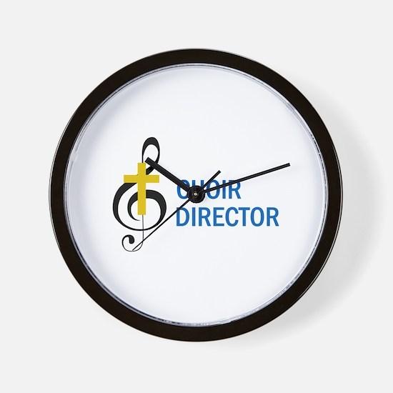 Choir Director Wall Clock