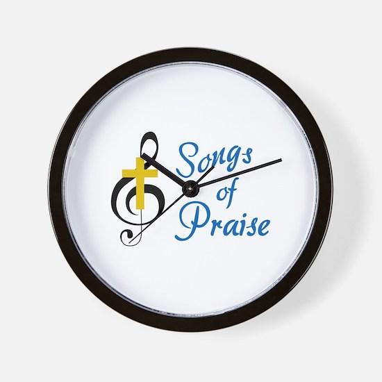Songs Of Praise Wall Clock