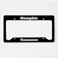 Memphis TN License Plate Holder