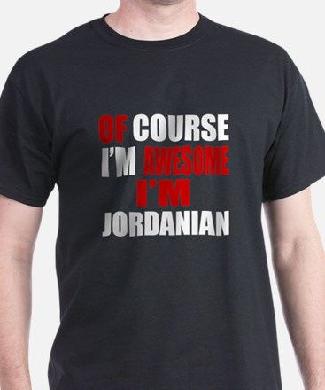 Of Course I Am Jordanian T-Shirt