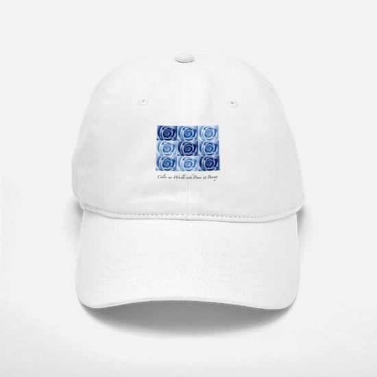 blue roses Baseball Baseball Cap