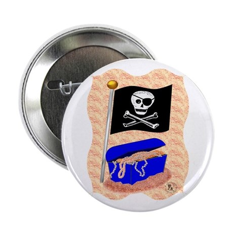 """Pirate Booty 2.25"""" Button (10 pack)"""