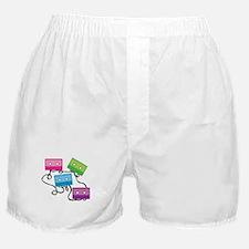 Retro Broken Cassette Tapes Boxer Shorts