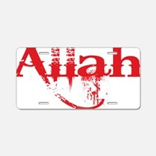 Cute Allah Aluminum License Plate