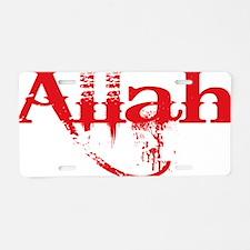 Unique Isis Aluminum License Plate