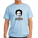 Hillary Clinton: A mother knows best Light T-Shirt