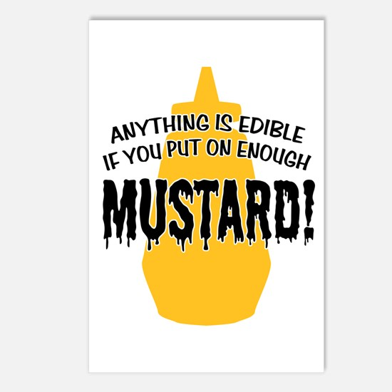 Put on Enough Mustard Postcards (Package of 8)