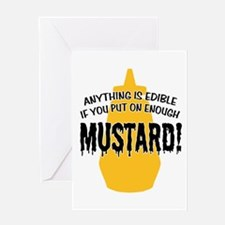 Put on Enough Mustard Greeting Card