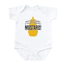 Put on Enough Mustard Infant Bodysuit