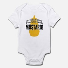 Put on Enough Mustard Infant Bodysuit