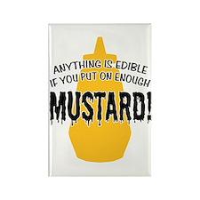 Put on Enough Mustard Rectangle Magnet