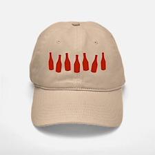 Bottles of Ketchup Baseball Baseball Cap