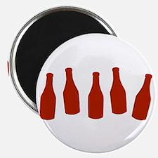 Bottles of Ketchup Magnet