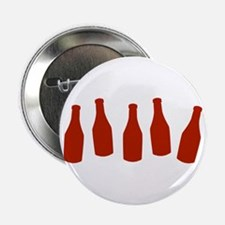 """Bottles of Ketchup 2.25"""" Button"""