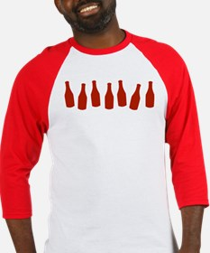 Bottles of Ketchup Baseball Jersey