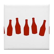 Bottles of Ketchup Tile Coaster