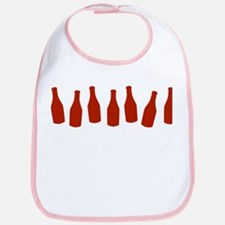 Bottles of Ketchup Bib