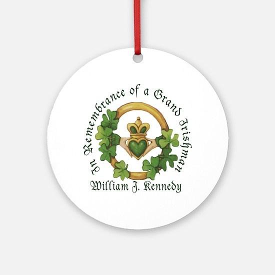 In Remembrance Sample Ornament (Round)