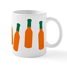 Bottles of Hot Sauce Mug