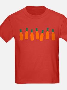 Bottles of Hot Sauce T