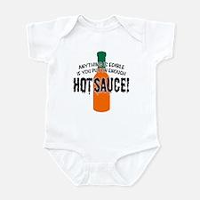 Put on Enough Hot Sauce Infant Bodysuit