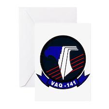 VAQ 141 Shadowhawks Greeting Cards (Pk of 10)
