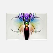 Chakra Goddess - transparent Magnets