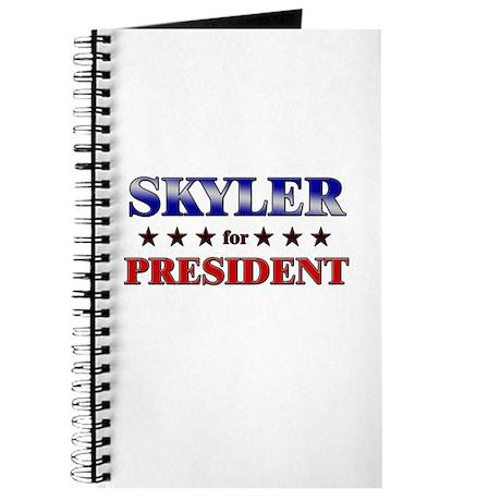 SKYLER for president Journal