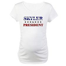 SKYLER for president Shirt