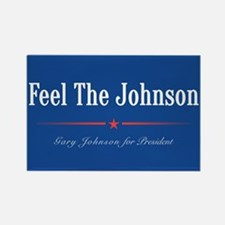 Feel the Johnson Campaign Sign Magnets