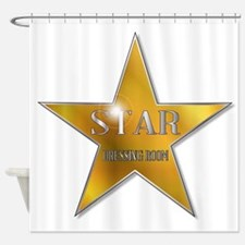 Star Dressing Room Shower Curtain