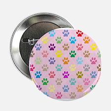 "Cute Animal pattern 2.25"" Button"