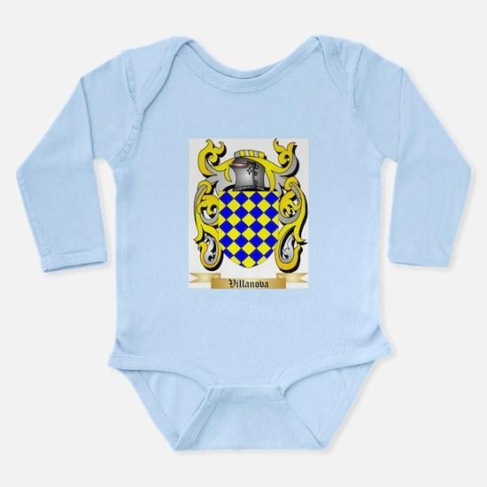 Villanova Long Sleeve Infant Bodysuit
