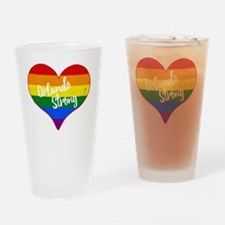 Cute Strong. Drinking Glass