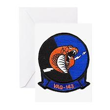 VAQ 143 Cobras Greeting Cards (Pk of 10)