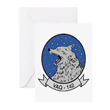 VAQ 142 Gray Wolves Greeting Cards (Pk of 10)