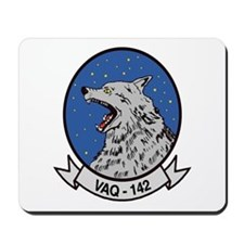 VAQ 142 Gray Wolves Mousepad