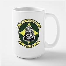 VAQ 209 Star Warriors Large Mug