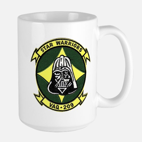 VAQ 209 Star Warriors Large Mug