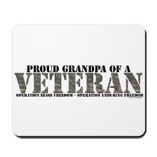 Both Wars (Iraq & Aghanistan) Mousepad