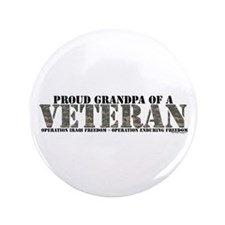 """Both Wars (Iraq & Aghanistan) 3.5"""" Button"""