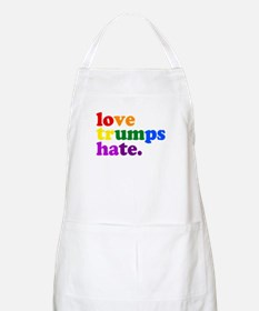 Love Trumps Hate Apron