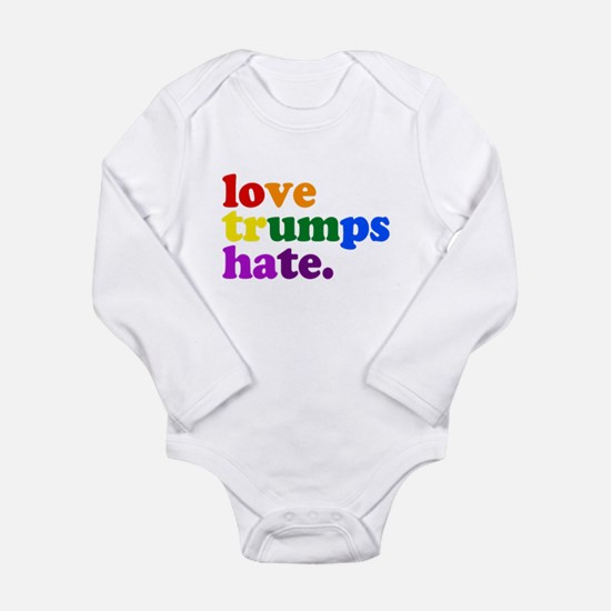 Love Trumps Hate Body Suit