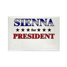 SIENNA for president Rectangle Magnet